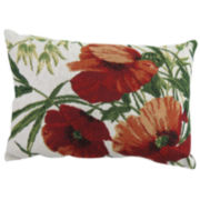 Park B. Smith®  Poppies Tapestry Decorative Pillow