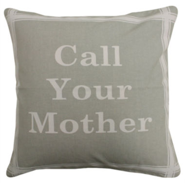 jcpenney.com | Park B. Smith® Call Your Mother Feather Decorative Pillow