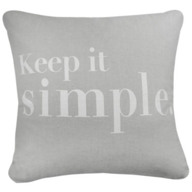 jcpenney.com | Park B. Smith® Keep It Simple Feather Decorative Pillow