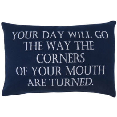 jcpenney.com | Park B. Smith® Your Day Will Go Feather Decorative Pillow