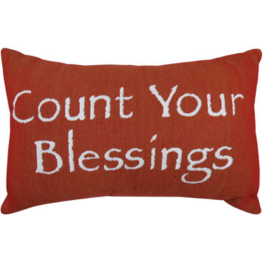 jcpenney.com | Park B. Smith® Count Your Blessings Tapestry Decorative Pillow