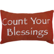 Park B. Smith® Count Your Blessings Tapestry Decorative Pillow