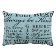 Park B. Smith® Do Your Best Tapestry Decorative Pillow