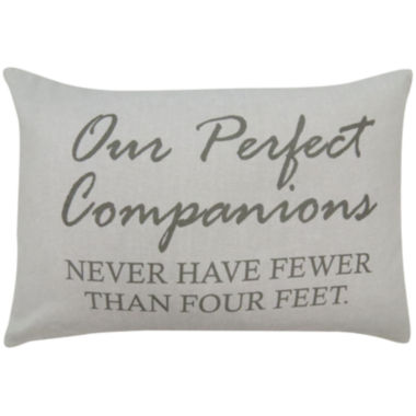 jcpenney.com | Park B. Smith® Our Perfect Companions Feather Decorative Pillow