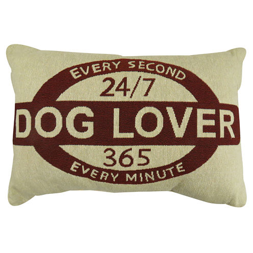 Park B. Smith® Dog Lover Tapestry Decorative Pillow