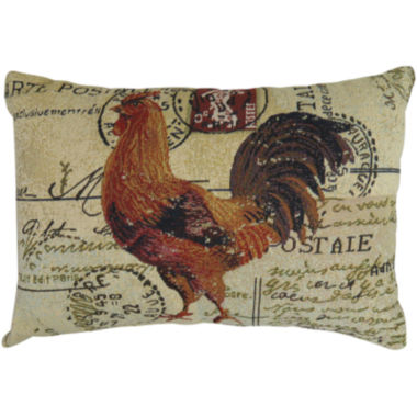 jcpenney.com | Park B. Smith® Rooster Postale Tapestry Decorative Pillow