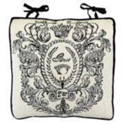 Park B. Smith® Paris Postage Tapestry Chair Cushion