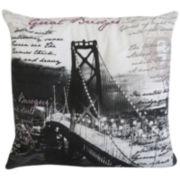 Park B. Smith® Great Bridges Feather Decorative Pillow