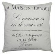 Park B. Smith® La Maison Feather Decorative Pillow
