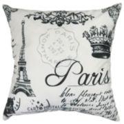 Park B. Smith® Paris Collage Feather Decorative Pillow