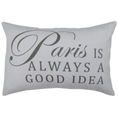 jcpenney.com | Park B. Smith® Paris Is Always A Good Idea Feather Decorative Pillow