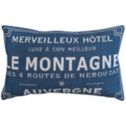 Park B. Smith® Le Montagne Auvergne Tapestry Decorative Pillow