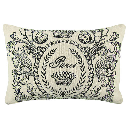 Park B. Smith® Paris Postage Tapestry Decorative Pillow