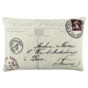 Park B. Smith® Postale Tapestry Decorative Pillow