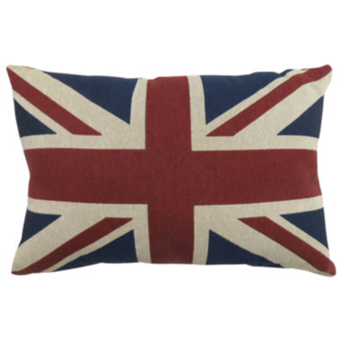 jcpenney.com | Park B. Smith® Great Britain Flag Tapestry Decorative Pillow