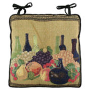 Park B. Smith® Wine Classic Tapestry Chair Cushion