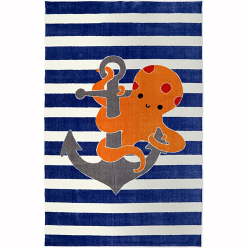 Mohawk Home® Little Octopus Rectangular Rug