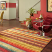 Mohawk Home® Boho Stripe Rectangular Rug