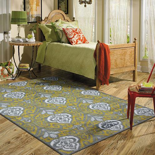 Mohawk Home® Elegant Ikat Rectangular Rug