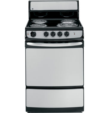 "jcpenney.com | GE® 24"" 3.0 Cu. Ft. Standard Clean Electric Range"