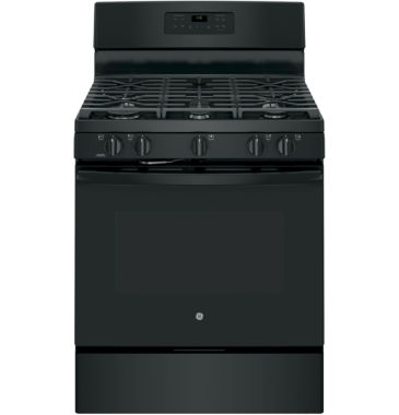 "jcpenney.com | GE® 30"" 5.0 cu ft Free-Standing Gas Range"