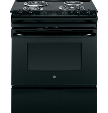 "jcpenney.com | GE® 30"" 4.4 cu ft Slide-In Electric Range"