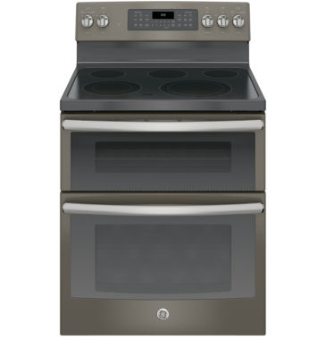 "jcpenney.com | GE® 30"" 6.6 Cu. Ft. Free-Standing Double Oven Electric Range with Convection"