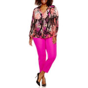 Worthington® Button-Front Blouse or Ankle Pants