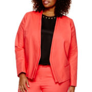 Worthington® Long-Sleeve Fashion Blazer - Plus