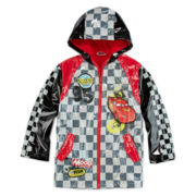 Disney Collection Cars Hooded Raincoat - Boys 2-10