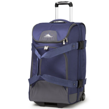 "jcpenney.com | High Sierra® Prime Access 3.5 26"" Drop-Bottom Rolling Duffel with Carry Straps"