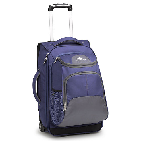 """High Sierra® Prime Access 3.5 22"""" Carry-On Spinner Luggage with Shoulder Straps"""