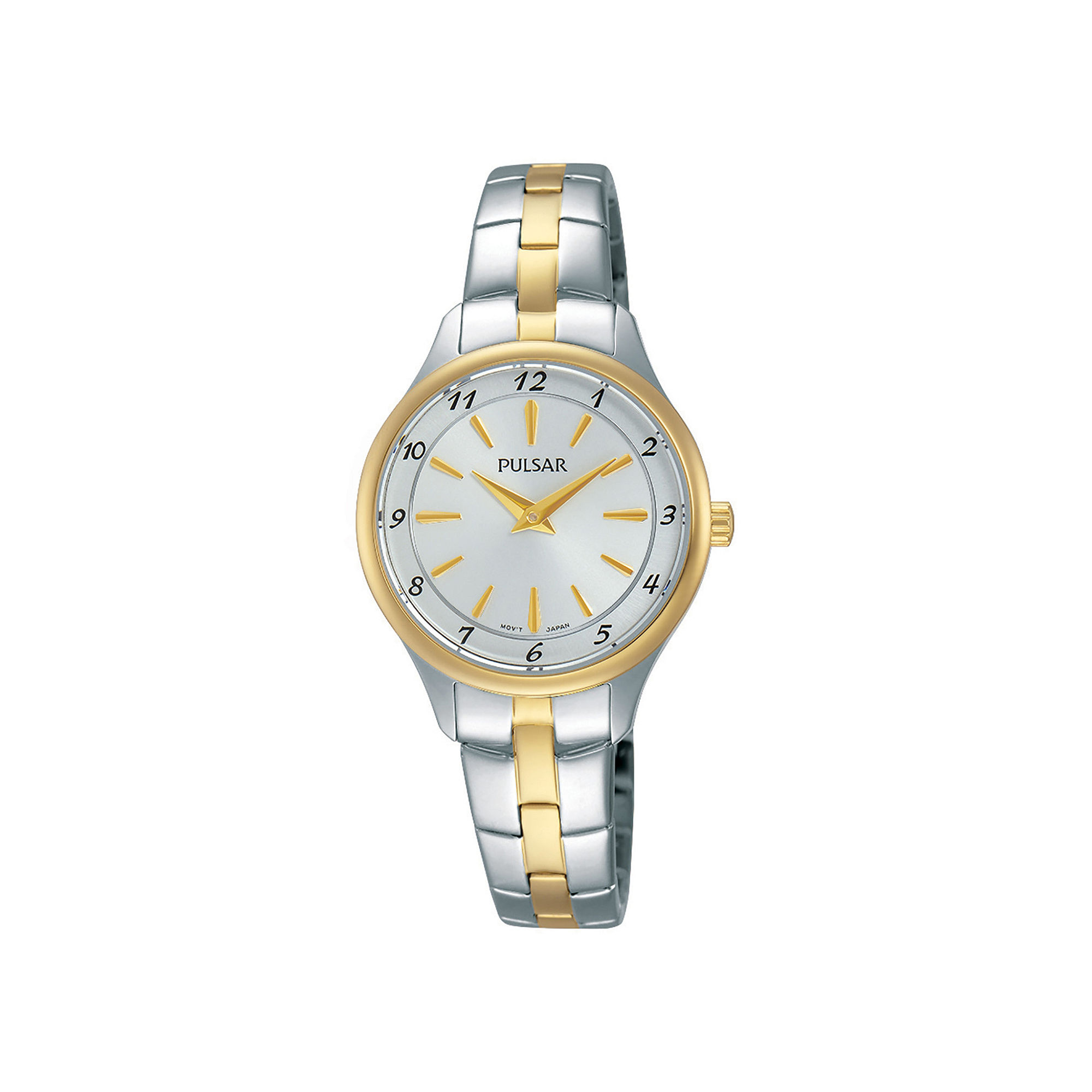 Pulsar Womens Two-Tone Stainless Steel Bracelet Watch