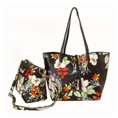 jcpenney.com | Imoshion Luella Large Island Print Reversible Tote