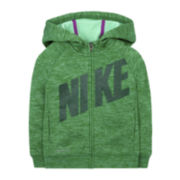 Nike® Zip-Up Hoodie - Preschool Girls 4-6x