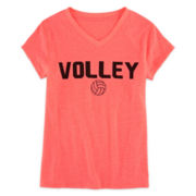 Xersion™ Volley Ball Graphic Tee - Girls 7-16