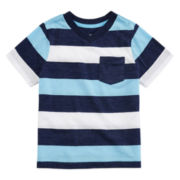 Arizona Short-Sleeve Striped Tee - Preschool Boys 4-7