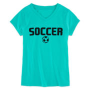 Xersion™ Soccer Graphic Tee - Girls 7-16