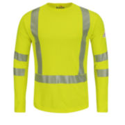 Bulwark® Long-Sleeve High-Visibility Class 3 Tee - Big & Tall