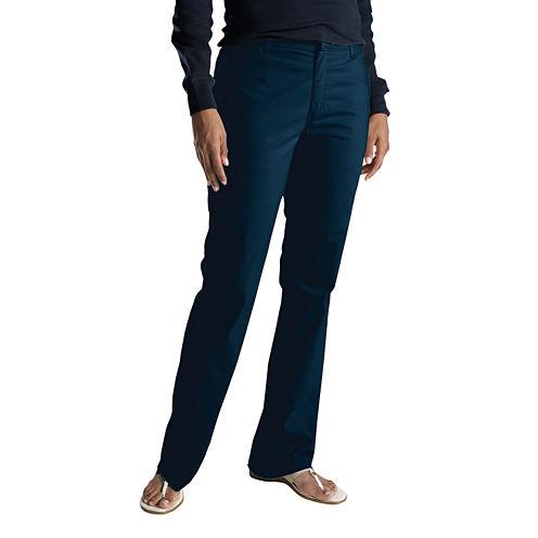 Dickies® Womens Slim Stretch Bootcut Pants - Short
