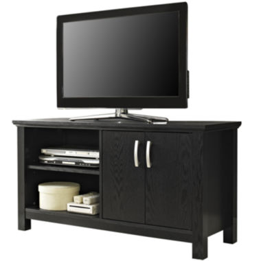 "jcpenney.com | Dobler 44"" Black Wood Entertainment Center"