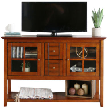 "jcpenney.com | Bailey 52"" Wood Console Table Entertainment Center"