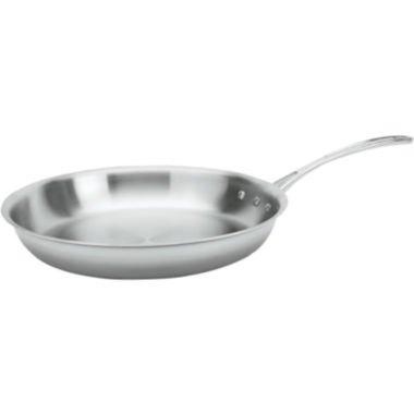 "jcpenney.com | Calphalon® Tri-Ply 12"" Stainless Steel Omelette Pan"