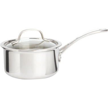 jcpenney.com | Calphalon® Tri-Ply 1.5-qt. Stainless Steel Saucepan