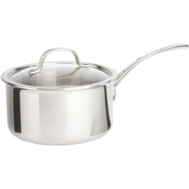 jcpenney.com | Calphalon® Tri-Ply 2.5-qt. Stainless Steel Saucepan