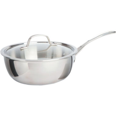 jcpenney.com | Calphalon® Tri-Ply 3-qt. Stainless Steel Chef's Pan