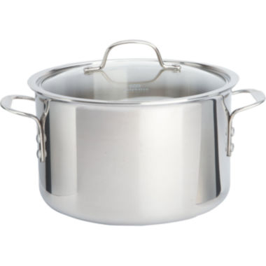 jcpenney.com | Calphalon® Tri-Ply 8-qt. Stainless Steel Stock Pot