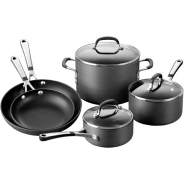 jcpenney.com | Simply Calphalon® 8-pc. Hard-Anodized Nonstick Cookware Set