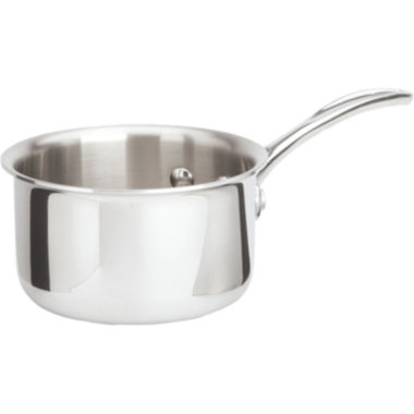 jcpenney.com | Calphalon® Tri-Ply 1-qt. Stainless Steel Saucepan