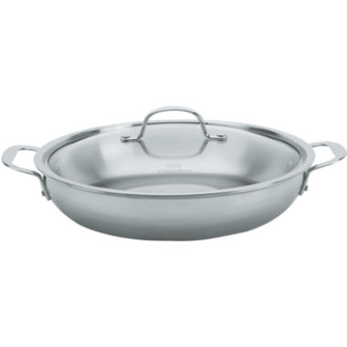 "jcpenney.com | Calphalon® Tri-Ply 12"" Stainless Steel Everyday Pan"